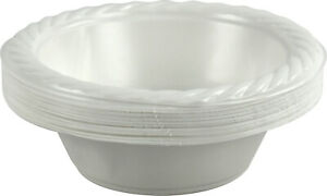 Plastic Bowl Dessert Soup Catering Disposable Party Wedding Birthday Pack of 30