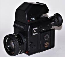 Rolleiflex SL 3003 con Rollei HFT planar 1,8/50 mm u. Sport-prismensucher 30 °