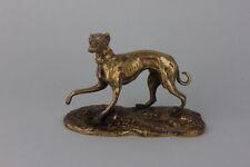 Windhund  Messing-Figur,  19.Jahrhundert