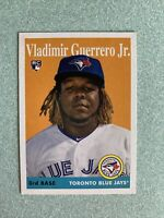 2019 Topps Archives Rookie Card #14 VLADIMIR GUERRERO JR. Toronto Blue Jays RC