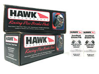 Front /& Rear Set Hawk Race HP Plus Brake Pads for 97-01 Acura Integra Type-R
