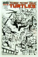 Teenage Mutant Ninja Turtles #1 2nd Print Variant 2011 IDW Comic Book Signed