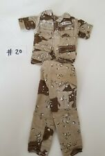 "1/6 SCALE U.S ARMY DESERT AIRBORNE UNIFORM FOR 12"" FIGURES DRAGON #20 GIJOE 21ST"
