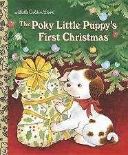 Poky Little Puppy's First Christmas by Golden Books (Hardback, 2003)