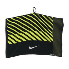 (Black/Voltage Green) - Nike Golf- Face/Club Jacquard Towel. Delivery