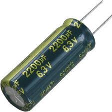 20 ST YAGEO lesr Elko Condensatore elettrolitici condensatore 2200µf 6,3v 2200 2200uf