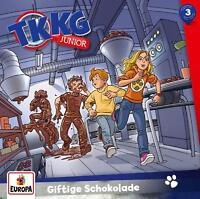 TKKG JUNIOR - 003/GIFTIGE SCHOKOLADE   CD NEW