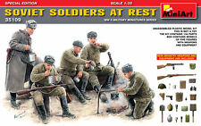 Miniart 1/35 Soviet Soldiers at Rest (Special Edition) # 35109 @