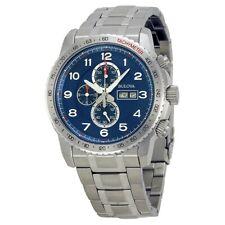Bulova 96C121 Marine Star Chronograph Blue Dial Watch