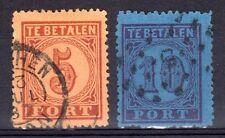 Netherlands - 1870 Postage Due Mi. 1-2 FU