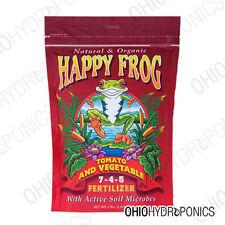 Happy Frog Tomato & Vegetable 4lb soil fertilizer HFTV408 FoxFarm Fox Farm