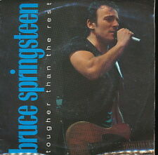 BRUCE SPRINGSTEEN 45 TOURS HOLLANDE TOUGHER THAN THE RE