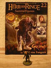 Herr der Ringe-Figur : Grischnakh im Wald von Fangorn (Nr. 22)+Heft