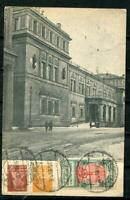Russia/USSR 1926 Picture Postal Card Leningrad Hermitage to England. 3 st. r564s