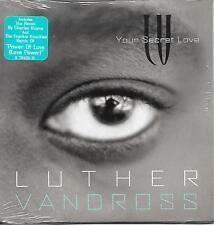 LUTHER VANDROSS - Your secret love CD SINGLE 4TR US CARDSLEEVE 1996 (EPIC)