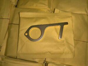 Clean Key Door Opener Handheld Brass Key No Touch Hand Tool 175 Piece Lot