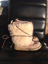 Authentic Ugg Fur Sheepskin Short Boots
