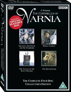 The CHRONICLES OF NARNIA 4 MOVIES COLLECTION DVD BOXSET 4 DISCS REGION 4