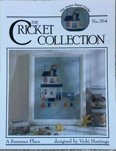 A Summer Place Beach House The Cricket Collection Cross Stitch Pattern #264