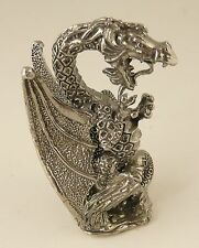 Pewter Dragon - 13cm tall - collectable mythical fantasy figure