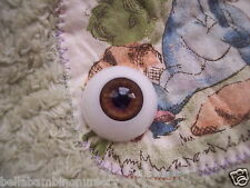 ~EyEcO EyEs PoLyGLaSs Eyes DeEp SaBLe 20MM~ REBORN DOLL SUPPLIES
