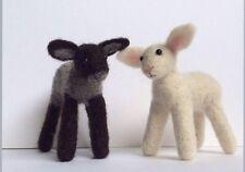 2 X Lamb Sheep Needle Felt Kit