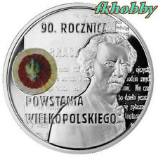 Poland 2008 silver 10 zl 90 r Powstania Wielkopolskiego
