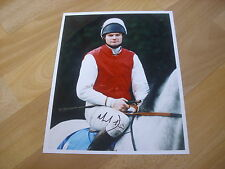 Mark DWYER  Horse Racing Nat. Hunt JOCKEY 07/12/95  Hand SIGNED Press Photo