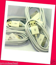 4 PACKS USB Data Charger Cable Cord for iphone 3 4 4s ipod iTouch