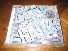 Norteno Rap CD City of Sharks - Mr. 21 Traficante Scrilla Mac Tekpot Fada J 408