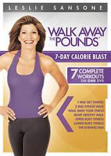 Leslie Sansone: Walk Away the Pounds - 7-Day Calorie Blast (DVD, 2012) BRAND NEW