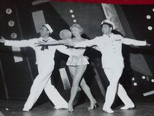 FUNDS GERMAINE ROGER VINTAGE PHOTO CHEVALIER DU CIEL LUIS MARIANO C.CEREDA 1955