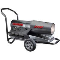 Reconditioned ProCom Kerosene Forced Air Heater - 160,000-220,000 BTU, Multifuel