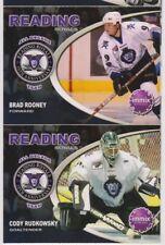 "Reading Royals (ECHL) 10th Anniversary ""All Decade Team"" card set !"