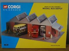 CORGI CLASSICS METCALFE READY CUT SELF ASSEMBLY MODEL BUS DEPOT KIT 31804 1:50