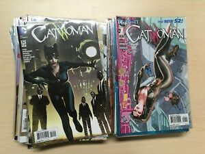 Catwoman New 52 #1-52, #0, Annuals Complete Run with some Variants NM 1st prints