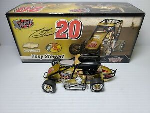 2007 Tony Stewart #20 Bass Pro Shops / Chili Bowl 1:24 Sprint Car Action MIB