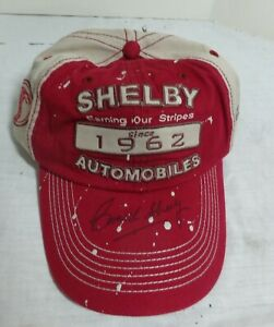 Carroll Shelby SIGNED Hat Shelby Automobiles Since 1962 C Shelby Collection NOS