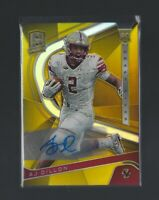 A.J. DILLON 2020 Panini Spectra  GOLD AUTOGRAPH RC  8/10 Green Bay Packers