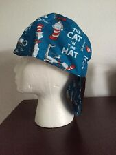 WELDING CAP , ALL COTTON  CAT IN THE HAT  soft bill