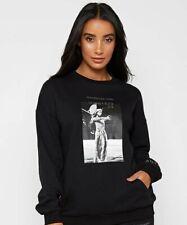 Revolucionaria de voir anti-Moda Jersey Jumper-negro talla 10.