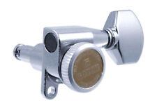 Gotoh Chrome 6 Inline RH Mini Sealed Locking Button Guitar Tuners TK-7768-010