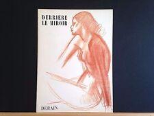 Derriere le Miroir 94-95, André Derain lithographs, 1957, Maeght, vintageINV2118