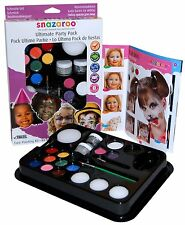 Snazaroo Face Paint Ultimate Party Pack Face Paints Painting Sets Ideas Kits