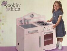 New Wooden Retro Kitchen, Pink