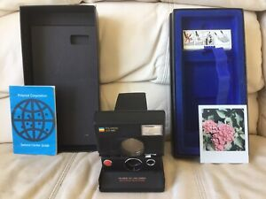 Polaroid SLR 680 AutoFocus Instant Camera-Film&Flash Tested-Great-Ships Same Day