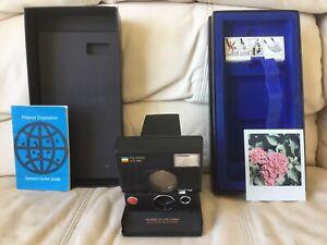 Polaroid SLR 680 AutoFocus Instant Camera-Film&Flash Tested-Great-Ships Same Day