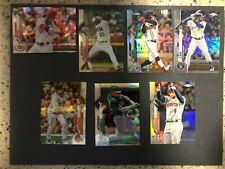 New listing 2020 TOPPS CHROME BASEBALL CARD REFRACTOR YOU CHOOSE PICK MLB CARDS FREE SHIP