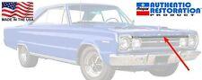 1967 Plymouth GTX / Satellite Hood Lip Molding Mopar New 67 USA Made