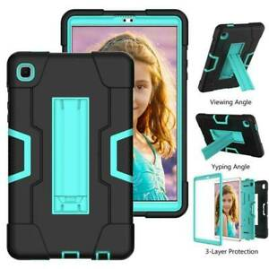 """For Samsung Galaxy Tab A7 Lite 8.7"""" T220 T225 2021 Hybrid Rugged Kick Stand Case"""